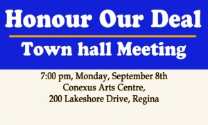 Honour Our Deal_Town Hall_Sept 8, 2014