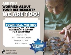 Town Hall Dec 14 2014_CLC_Retirement security