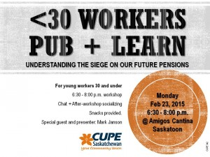 YOUNG WORKERS Pension Workshop 2015_FEB 23 2015_FINAL