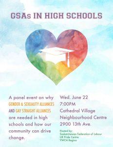 GSAs in High Schools Poster