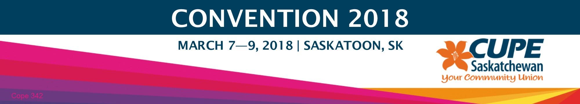 Convention | CUPE Saskatchewan
